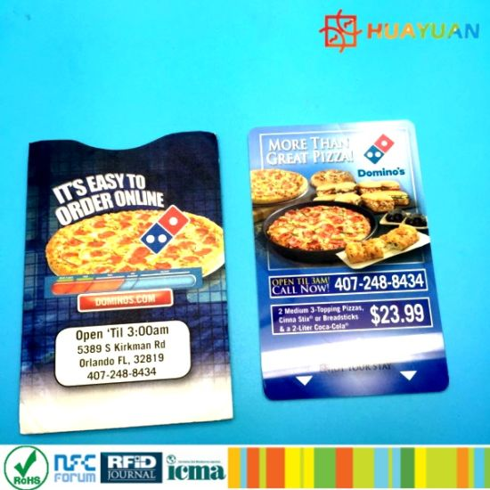 china wholesale custom printing plastic pvc gift card with card