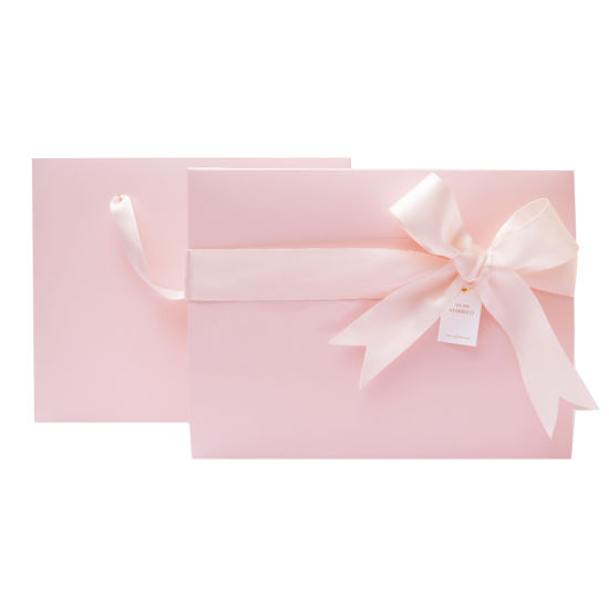 Custom Gift Box Lid and Bottom with Pink or Various Color Ribbon  sc 1 st  Shanghai Hong Ming Printing Co. Ltd. & China Custom Gift Box Lid and Bottom with Pink or Various Color ...