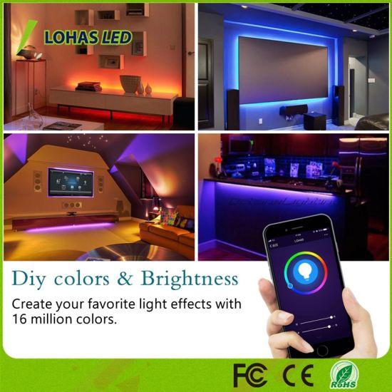 China Lohas Wifi Led Strip Lights Work With Amazon Aleax Rgb