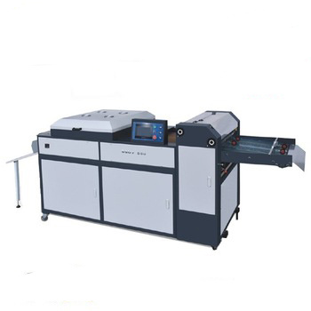 Manual Sguv-660 UV Coating Machine Working with Digital Printer pictures & photos