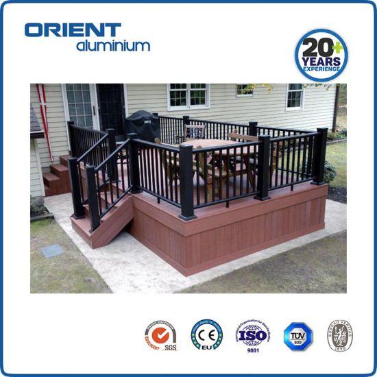 Simple Design Guardrail Aluminium Handrail for Houses