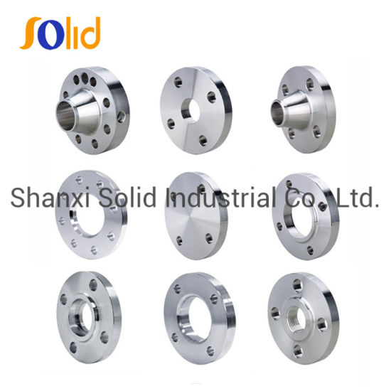 Professional Wholesale OEM BS, ANSI, JIS, DIN 304L Stainless Steel Carbon Steel A105 Forged Welding Neck 150lbs Threaded Forged Flanges Factory Price