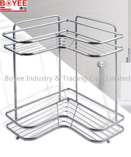 China Fashionable Corner Shower Caddy, Stainless Steel Bathroom ...
