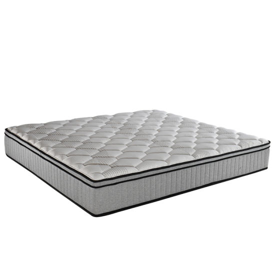 Home Furniture General Use Vacuum Compressed 5 Zone Pocket Spring Memory Foam Mattress with Natural Latex