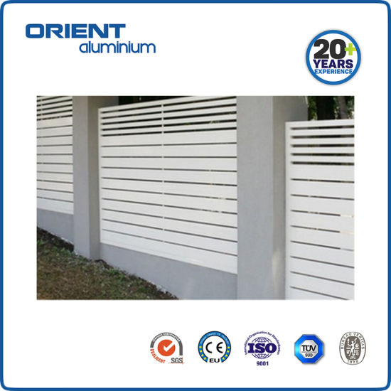 Customized Aluminum Fence Panels Privacy Screen