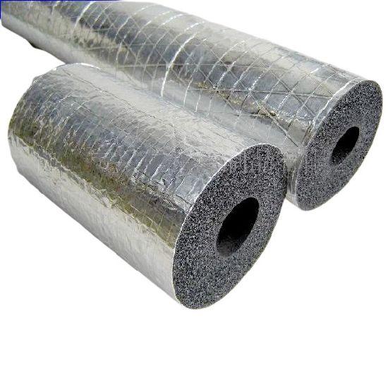 Aluminium Foil Rubber Foam Insulation Tube/Pipe for Solar Hoses