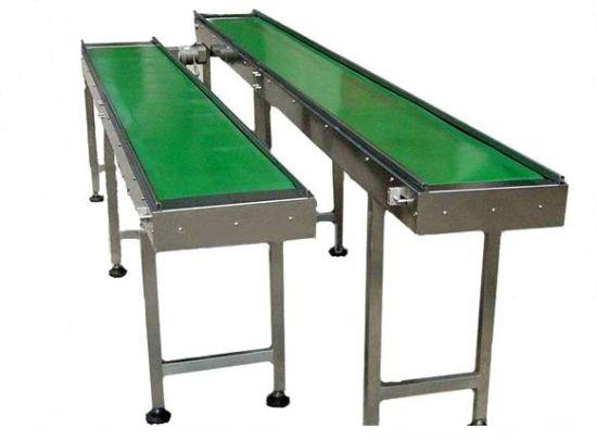 Industrial Automatic Aluminium PVC Rubber Conveyor Belt System Machine