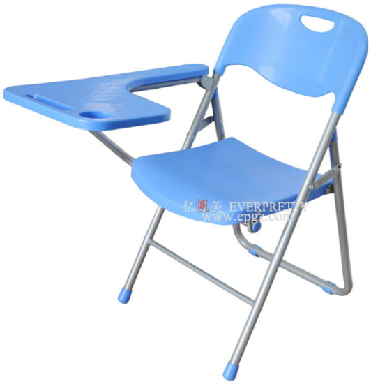 Furniture Fixed Tablet Arm Chair