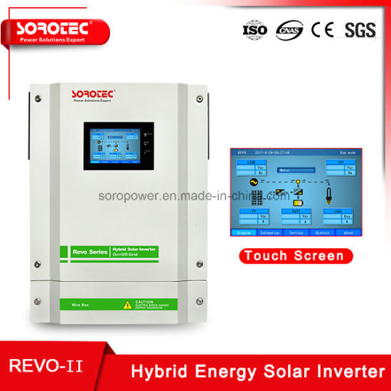 3kw/3.2kw/5.5kw on/off-Grid Pure Sine Wave Solar Power Inverters with Energy Storage System