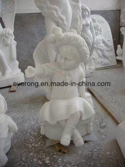 Outdoor Garden Life-Size Four Season Marble Statue Woman Stone Sculpture pictures & photos