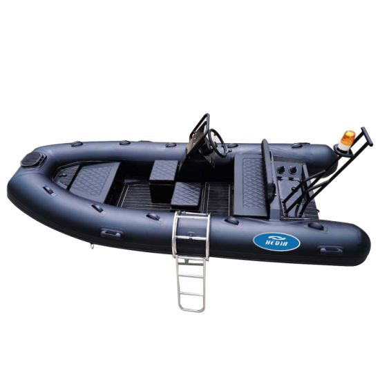 CE Rib 360 390cm Orca Hypalon Aluminum Rigid Hull Inflatable Rib Boat with out Motor