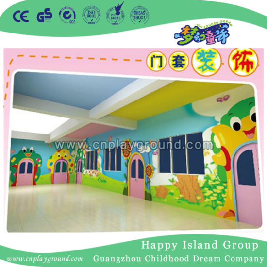 China Colorful Nursery School Interior Design And Cartoon For Sale