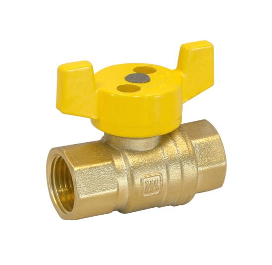 Brass Safety Magnetic Control Lockable Valve