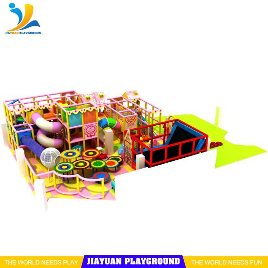 Commercial Indoor Children Games Soft Playground Equipment for Sale