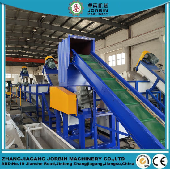 Plastic Recycling Machine/PP PE Film Recycling Machine Plant