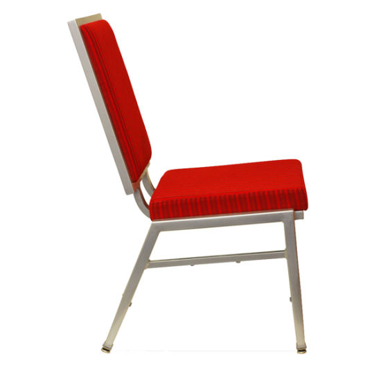 Wholesale Furniture Steel Frame Fabric Upholstered Dining Chairs for Hotel