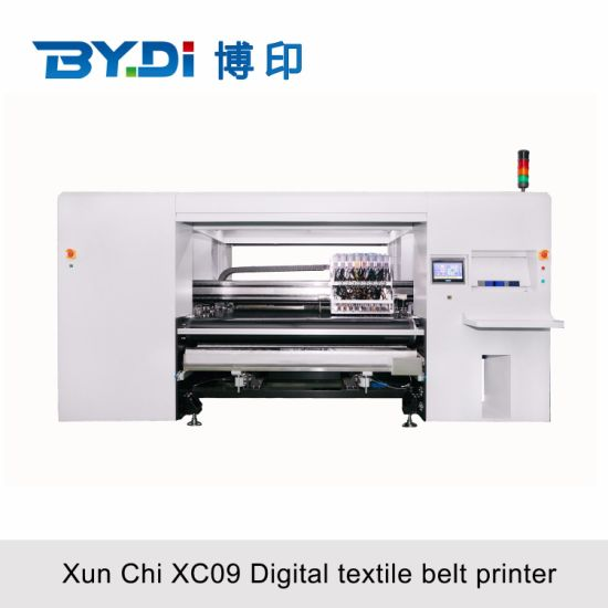 Industrial Textile Printer for Cotton Linen and Polyester Fabric Direct Printing with Kyocera Printhead