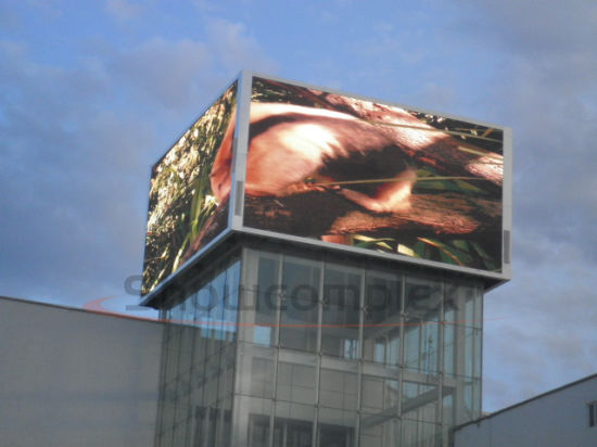 High Brightness IP65 Comercial Innovative Electronic Signage for shopping Mall