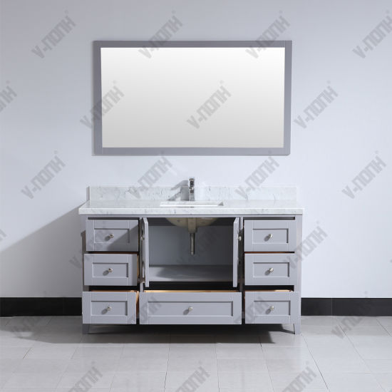 White 60inch Solid Wood Size