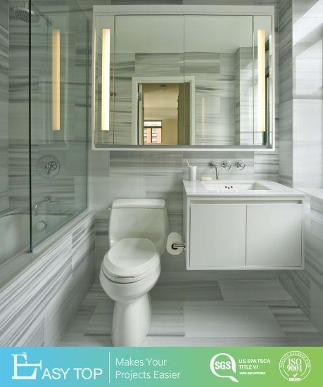 Hot Sell Hotel Bathroom Furniture Custom Modern Vanity Bathroom Cabinet