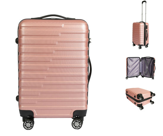 2019 Trolley Suitcase with High Quality ABS Hard Shell Spinner Travel Carry-on Luggage -Xha148