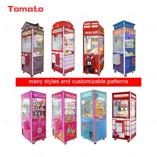 Coin Operated Games Amusement Claw Crane Vending Game Machine