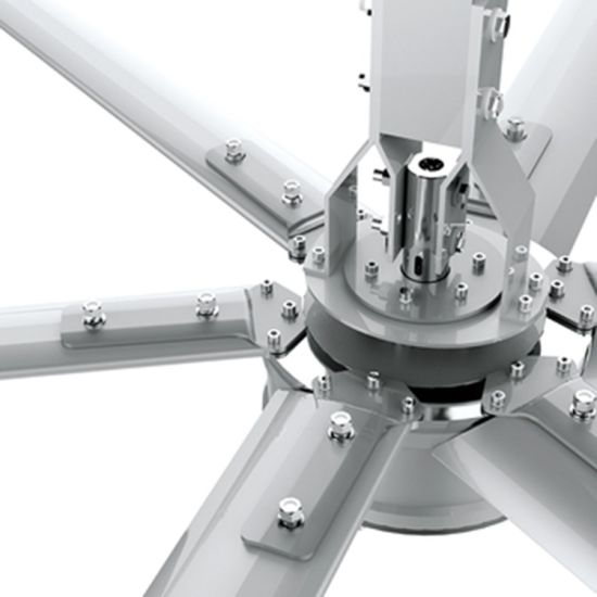 Large Air Flow Electric Cooling Ceiling Fan for Waiting Room