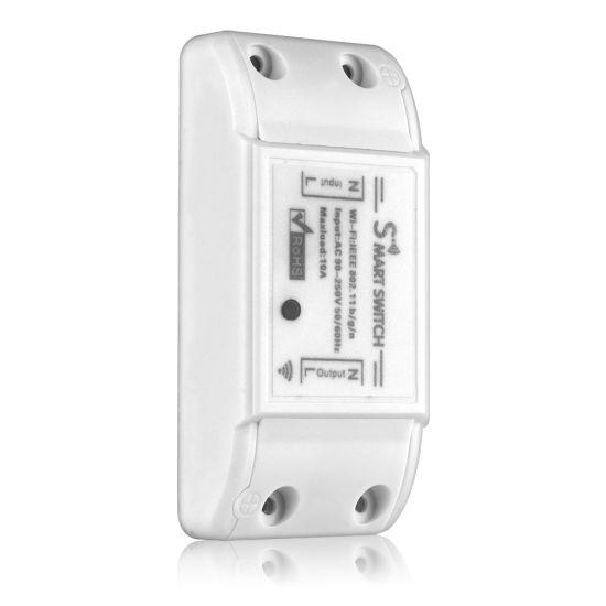 Tuya Smart Life WiFi Switch Sonoff Basic Intelligent Timer Switch 10A 220W