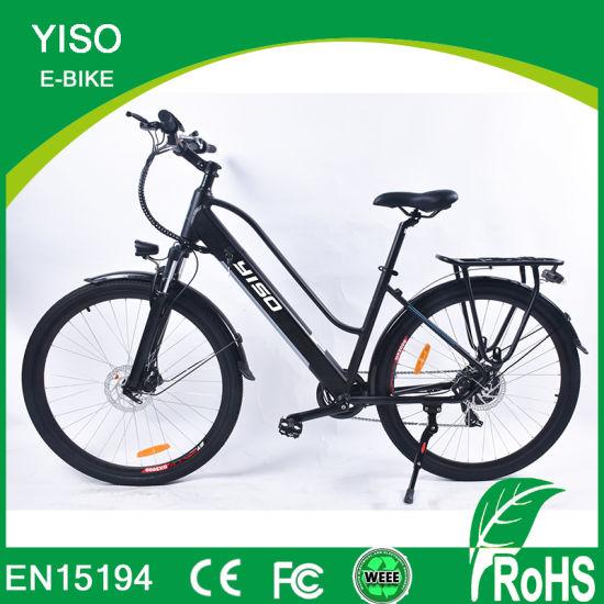En15194 700c 28 Green Lady Electric Mountain Lithium Pedal Assistant Motor Power Electric Bike /Ebike/E-Bike/Guangzhou