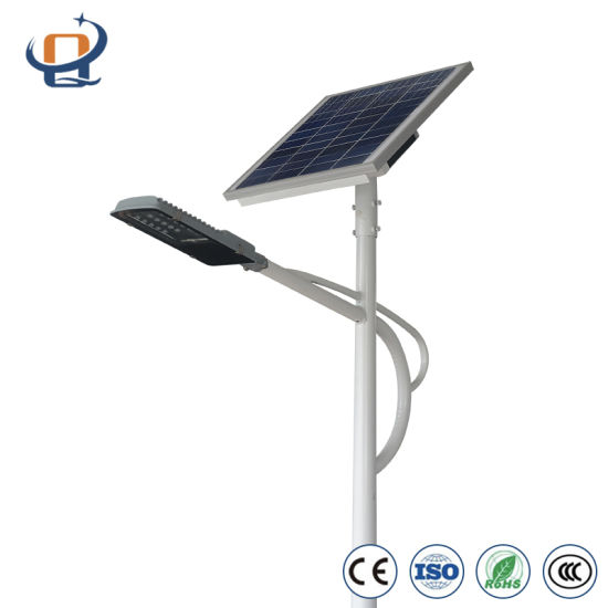 DC 12/24V 30W 40W 50W 60W 80W 100W 120W LED Integrated All in One Outdoor Solar Street Lights pictures & photos