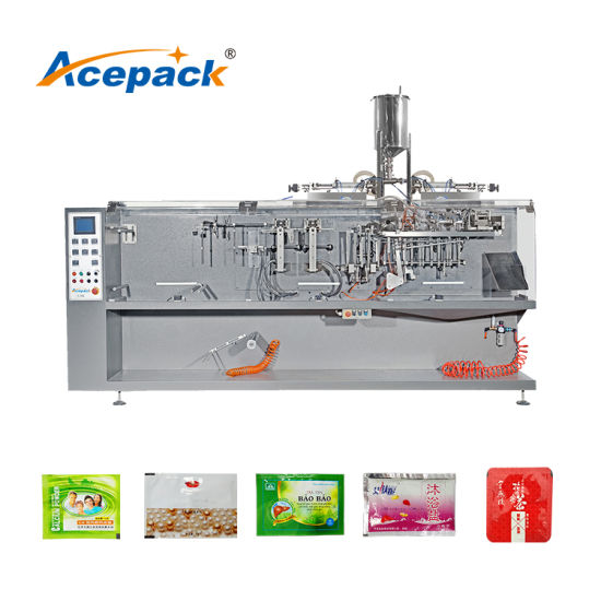 160ppm High Speed Duplex Outlet Filling Flat Sachet Sun Cream/Food/Paste/Granule/Powder Packing Machine