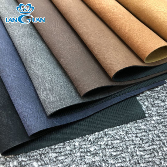 0.9mm Shoe PU Artificial Leather