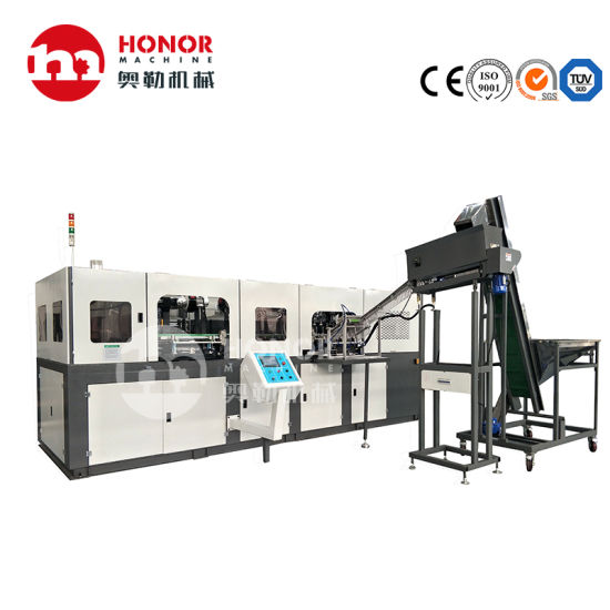 Automatic 0.2L 0.5L 1L 2L Plastic Pet Bottle Drinking Water Beverage Juice Carbonated Drink Blowing Filling Capping Labeling Packaging Machine/Equipment