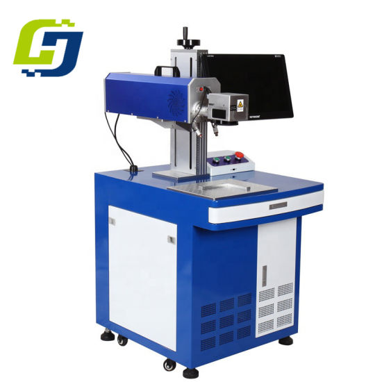 High Speed Laser Marking Machine/ CO2 Desktop Laser Printing/Engraving Machine for Food/Tobacco and Alcohol Package Coding Printer pictures & photos