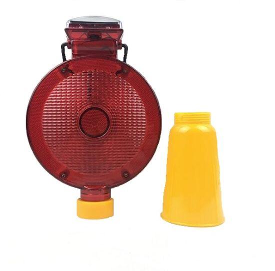 Solar Traffic Cone & Barricade Flasher