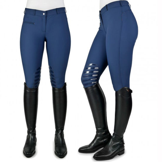 China Manufacturer Jodhpurs Women Riding Tights Horse Silicone Seat Ladies Breeches