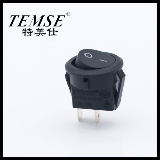 Temse Round Without Neon Lamp Rocker Switch