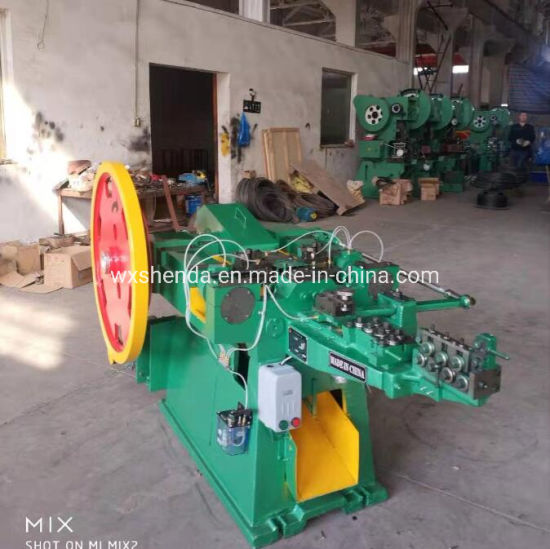 China Total Wire Nail Manufacturing Making Machines