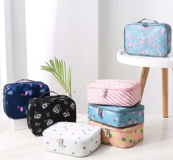 Wholesale Custom Makeup Travel Promotional Fashion Cosmetic Bag