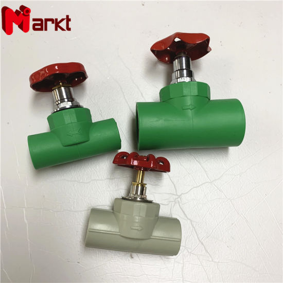 Welding Connection PPR Stop Valve Pipe Fittings