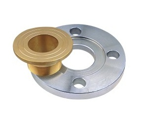 Male Thread Brass Lining Steel Flange Stainless Steel Companion Flange