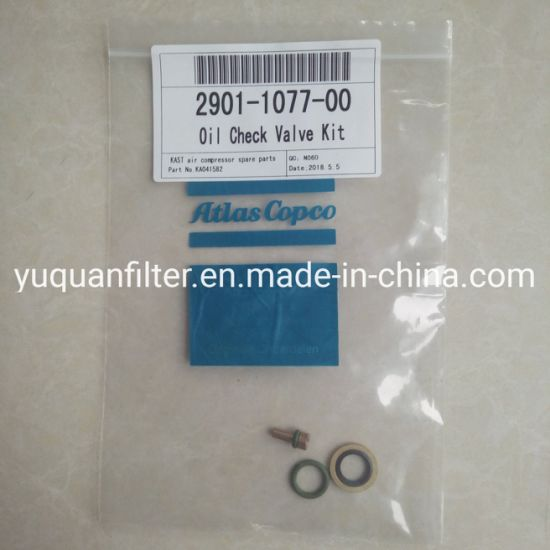 China Good Quality Atlas Copco Oil Check Valve Kit