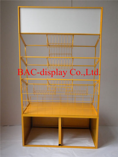 Metal Floor Standing Display Stand for Jelly/Sugar/Chewing Gum/Candy/Bonbon pictures & photos
