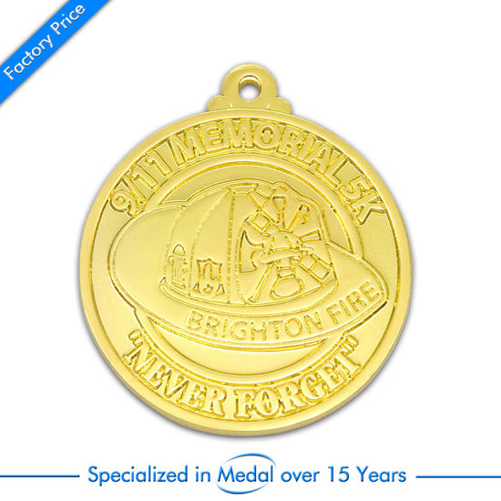 Fashion Custom Enamel Metal Antique Silver Award Medal as Gift pictures & photos