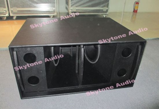 Ts218 Dual 18 Inch Subwoofer Basket Box pictures & photos