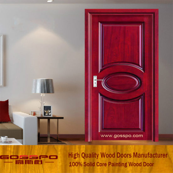 China Simple Desing Interior Mdf Wooden Door Gsp6 010 China Mdf
