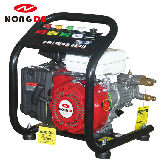 130 Bar Portable Honda Engine High Pressure Car Washer pictures & photos