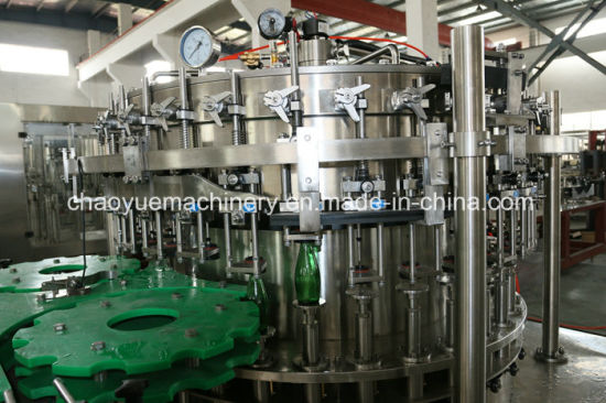 Glass Bottled Beer Aluminum Caps Filling Capping Machinery pictures & photos
