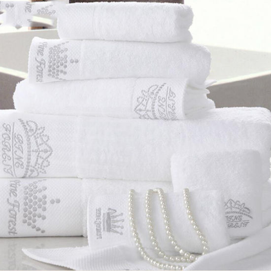 China High Quality Egyptian Cotton Towel Promotion Hotel Embroidery