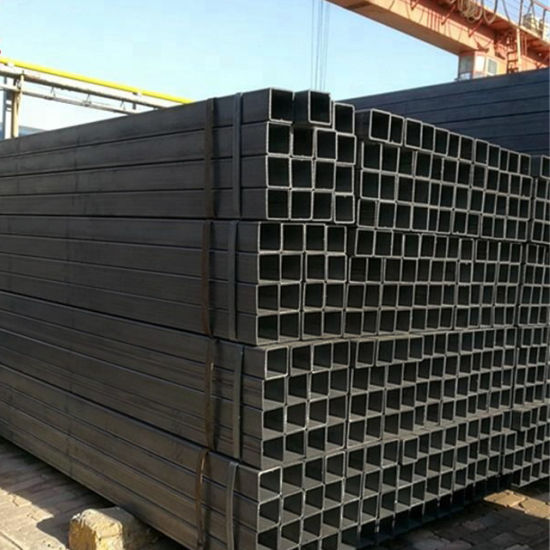 China Standard Golden Supplier Bending Rectangular and Square Hollow Section Steel Pipe for Furniture